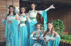 济南鲁能洲际贵和见面会舞蹈表演