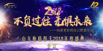 济南美格彤天2018总结会